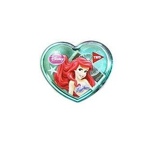 Apontador Coração Princesas Pequena Sereia