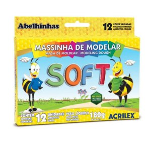 Massinha de Modelar Soft