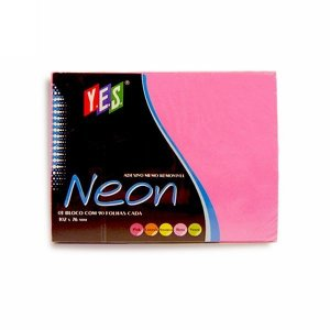 Bloco Adesivo Post It Yes Pink 102x76mm