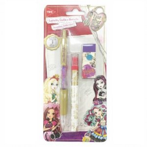 Kit Lapiseira Ever After High