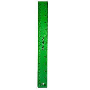 Régua Metal Flexível Verde