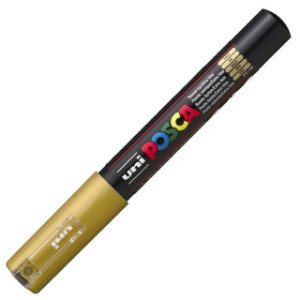 Caneta Posca - PC-1M - Dourado