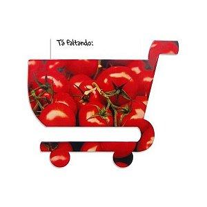 Imã Carrinho de Compras Tomate
