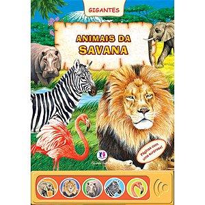 Livro Sonoro Animais da Savana