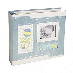 Álbum de Fotos Baby com Páginas Ilustradas - 10x15cm