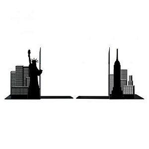 Aparador de Livros - Prédios Nova York