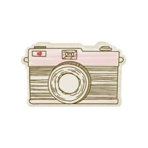 Porta Lápis Vintage - Camera