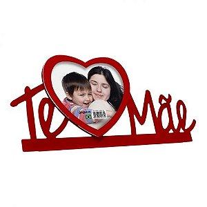 Porta Retrato Coração Te Amo Mãe