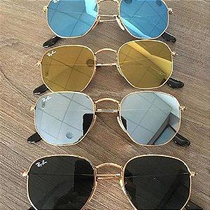 Óculos Hexagonal Inspired