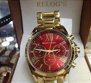 Relógio Romano Colorido