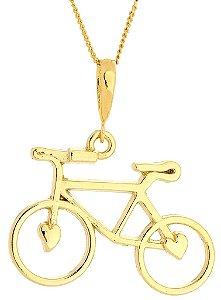 Corrente Bicicleta Banhada a Ouro