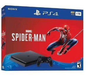 Playstation 4 1 tb 2215B com Spider Man