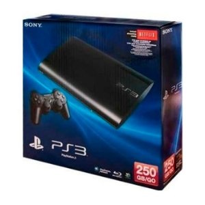 Playstation 3 Super Slim 250 + 2 Controles + Hdmi - Travado