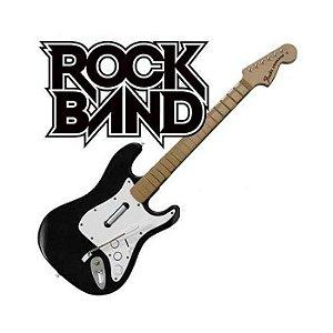 Guitarra Fender Sem Fio Rock Band - PS2 / PS3