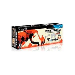 Kit Resistance 3 com om Move + Navigation + Câmera + Jogo + Arma - PS3