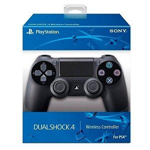 Controle Playstation 4 Sony Dualshock 4 Preto Original