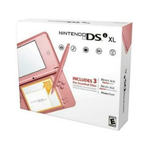 Nintendo DSi XL - Rosa + R4 i + 4 GB + 130 Jogos