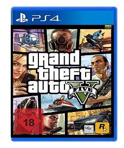 Jogo GTA V p/ PS4