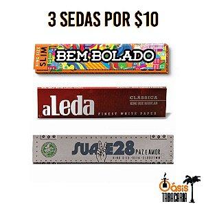 Sedas 3 por R$ 10,00