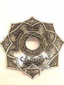 Prato Gods of Hookah Silver