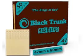 Piteira Black Trunk Haxi Tips  47mm
