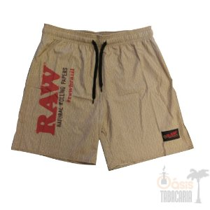 Short RAW Masculino Bege