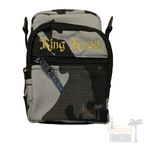 Shoulder Bag King Kush Cinza Camuflada