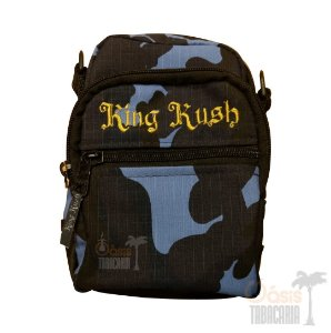 Shoulder Bag King Kush Azul Camuflado