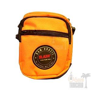 Shoulder Bag RAW Laranja Neon