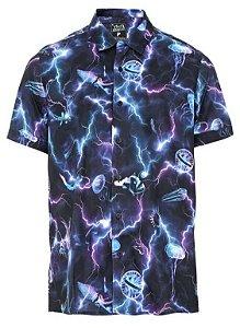 Camisa Manga Curta LOST! Eletric Storm