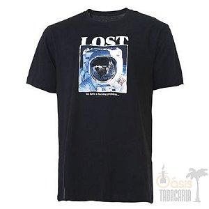 Camiseta LOST! Astronauta Preta