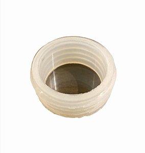 Borracha de Vaso pequena branca