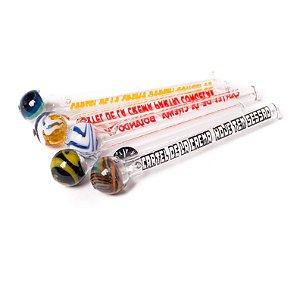 Piteira de Vidro Cartel De La Crema Bocal Redondo ( 3- 4 - 6 - 8 - 9 )mm