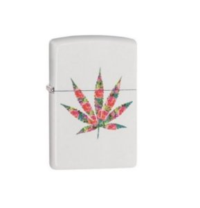Zippo Floral Weed