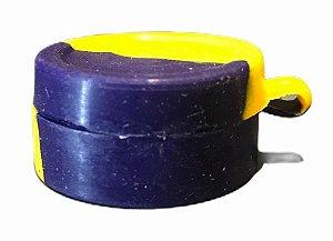 Oil Slick NS 10ml Tampa Presa e c/ Divisória Amarelo e Azul