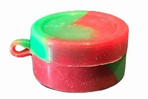 Oil Slick NS 10ml Tampa Presa e c/ Divisória (vermelho e verde)