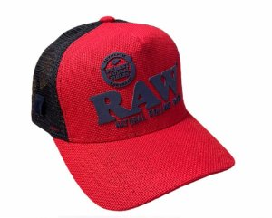 Boné RAW Logo Lona Vermelho