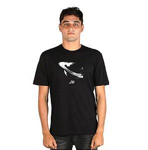 Camiseta LOST! Saturn Planet Preta