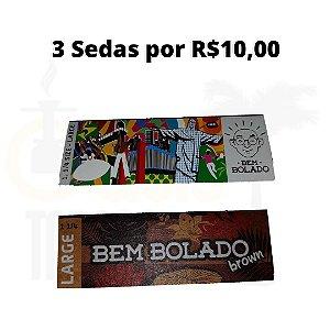 Sedas 1/4 3 por R$10,00 Bem Bolado