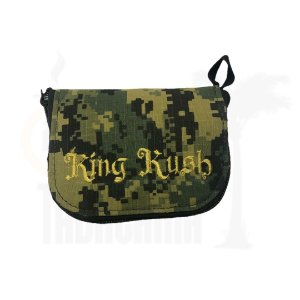 Case King Kush Slim Camuflado Verde