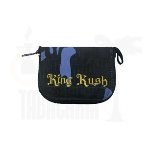 Case King Kush Slim Camuflado Azul