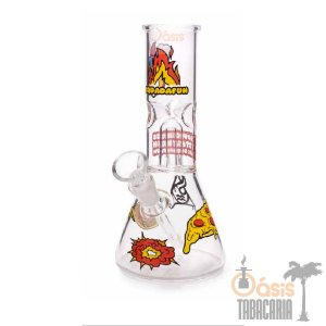 Ice Bong Percolator Squadafum (8005) Pizza
