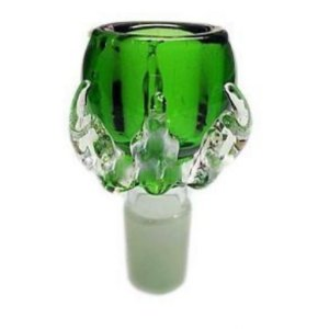 Bowl de Vidro Dragon Claw Verde 14mm