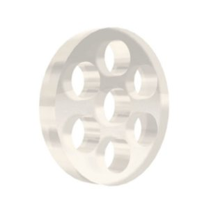 Tela de Vidro Honeycomb 7 Furos