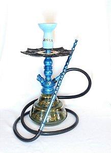 Narguile Zeus Single Azul Premium