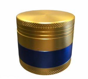 Dichavador Grinder 3 Fases Ouro Azul