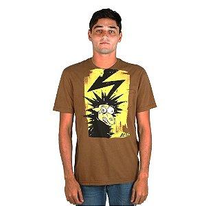 Camiseta LOST! Electrified Over Kraft Amarelo