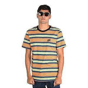 Camiseta LOST! Sunset Stripe Cali Laranja