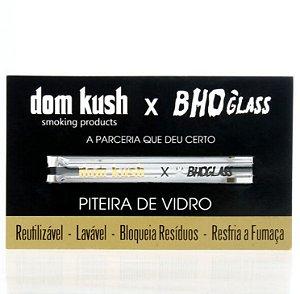 Piteira de Vidro Dom Kush + BHO Glass 5mm