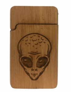 Wood Burning Porta Bic Alien